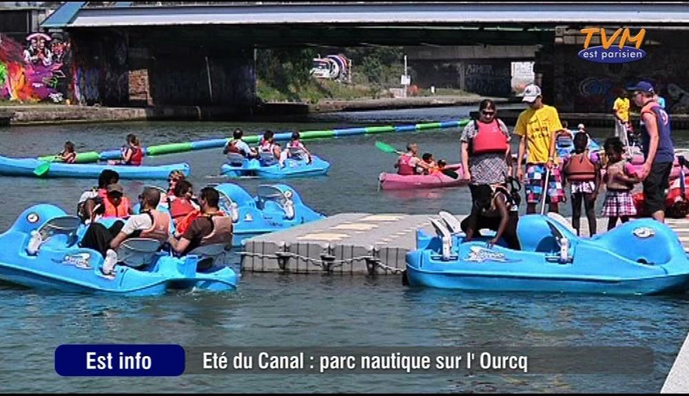 Noisy / Bondy : Parc nautique sur le canal de l'Ourcq
