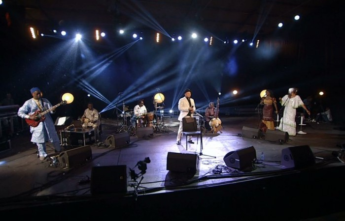Salif Keita en concert au Carreau du Temple