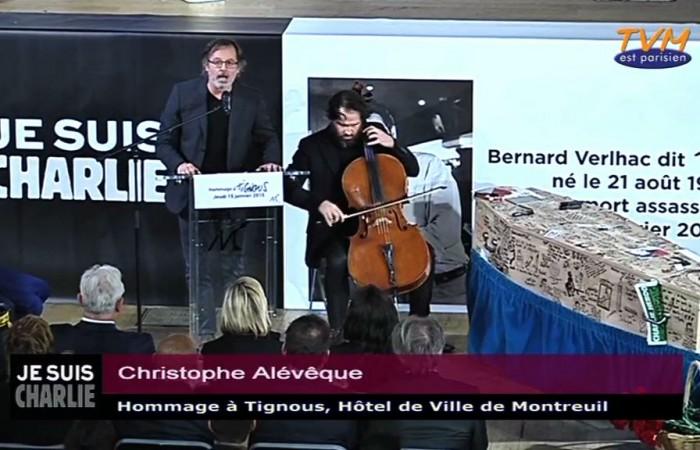 Hommage à Tignous : Christophe Alévêque
