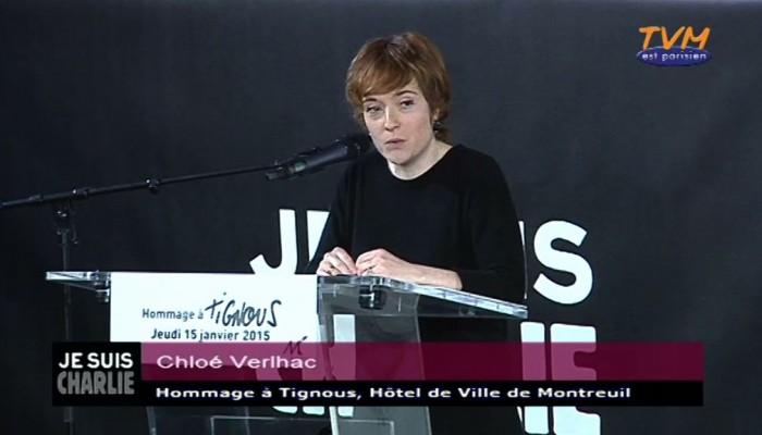 Hommage à Tignous : Chloé Verlhac, épouse de Tignous