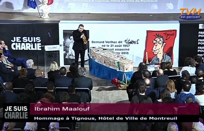 Hommage à Tignous : Ibrahim Maalouf