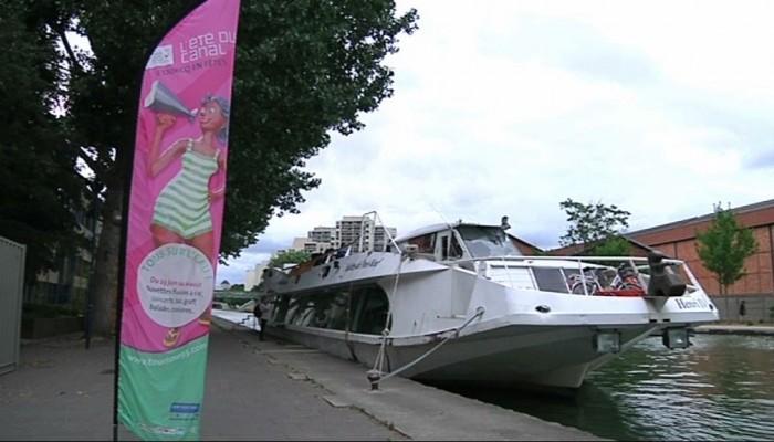 Le canal de l'Ourcq en fêtes jusqu'au 23 août
