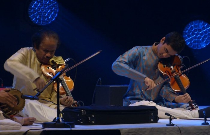 Dr L. Subramaniam – Nuit du Raga, concert au Philharmonie de Paris