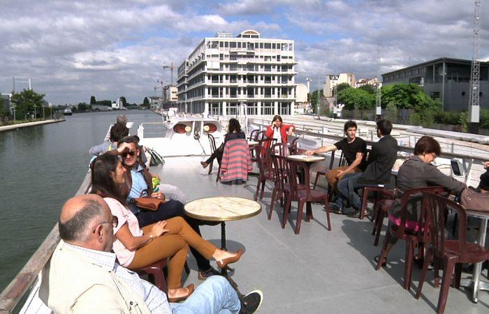 L'été sur le canal de l'Ourcq